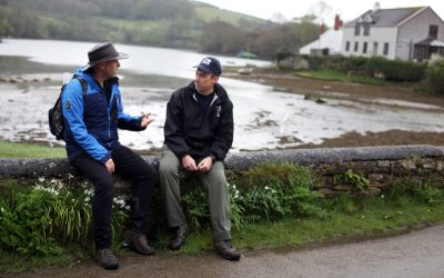 Westcountry Rivers Trust and iWalk Cornwall join forces to promote Cornwall's rivers
