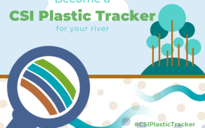 Track plastic before it gets to the ocean and be a #CSIPlasticTracker