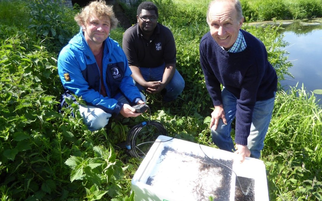 Fishermen and conservation groups in Somerset get together to help elvers migrate up river