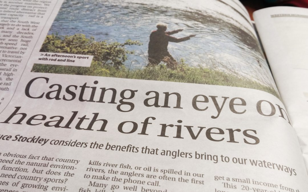 Casting an eye on river health