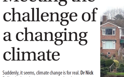 Meeting the challenge of a changing climate