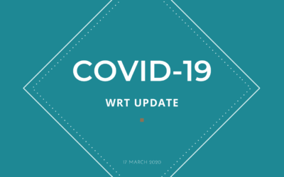 Working practices during COVID-19 at WRT