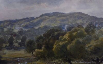 Historic painting helps inspire 50 year vision for carbon and nature rich landscape at Devon Estate
